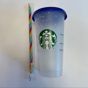 STARBUCKS 🌈 Color-Changing Confetti Cold Cup